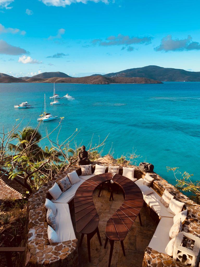 ilha necker nas ilhas virgens britânicas