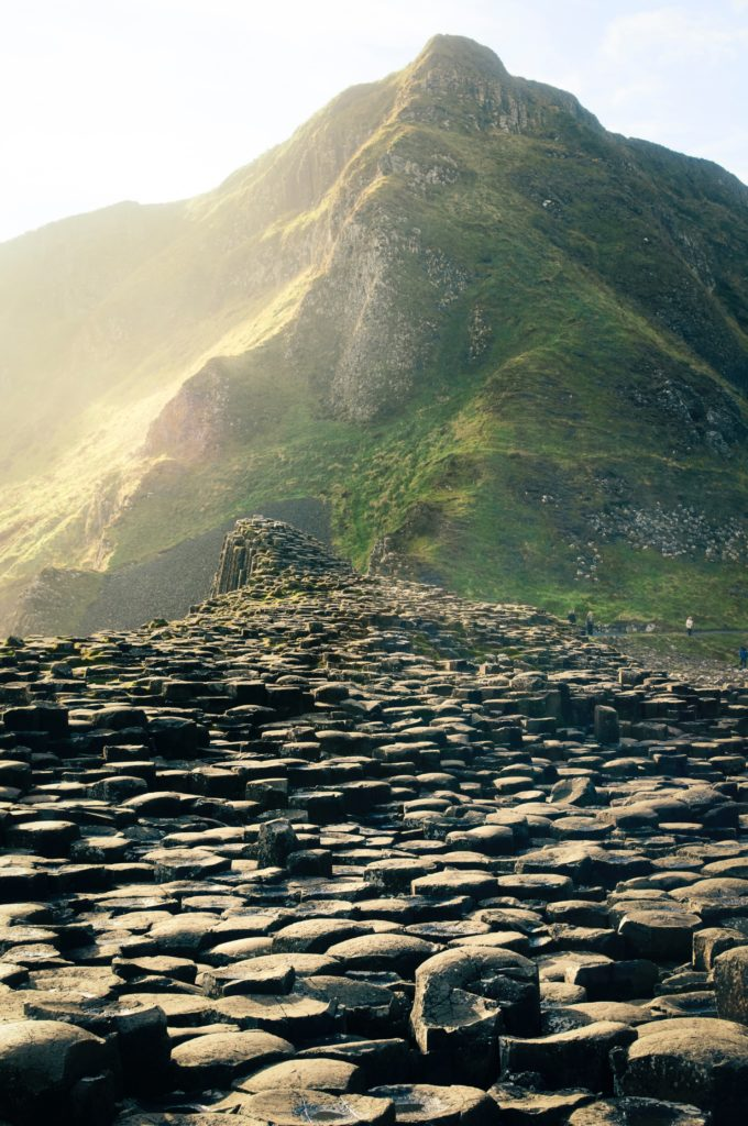 Giant's causeway, bushmills na irlanda do norte