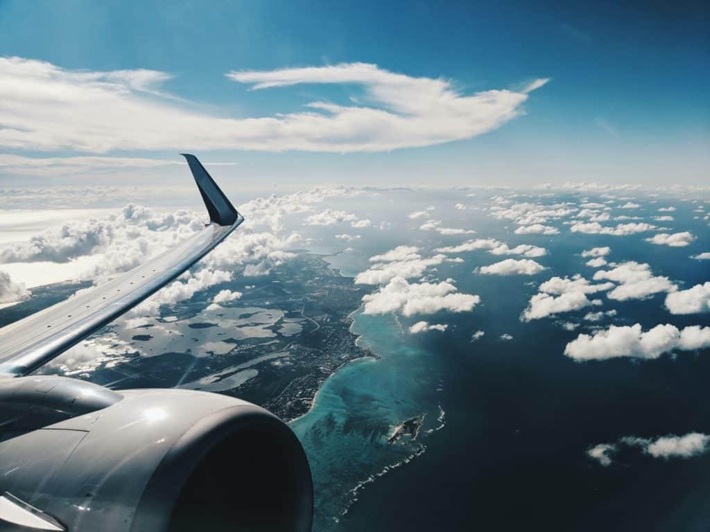 vista aerea das bahamas