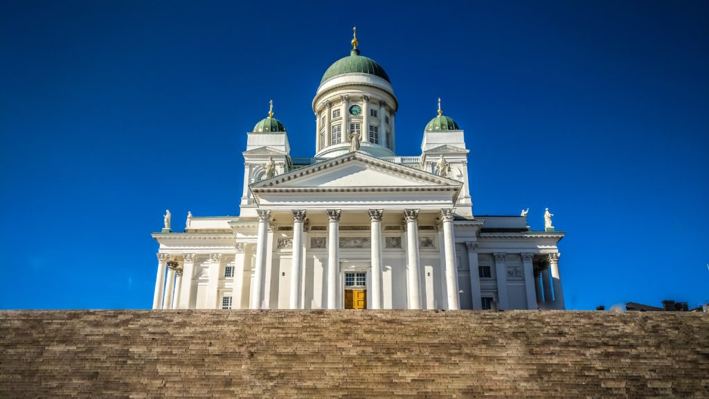 Catedral de Helsinki na Finlândia