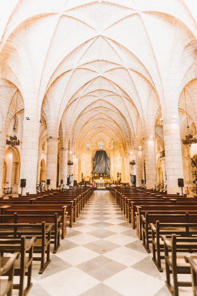 Catedral de Santa María la Menor em santo domingo