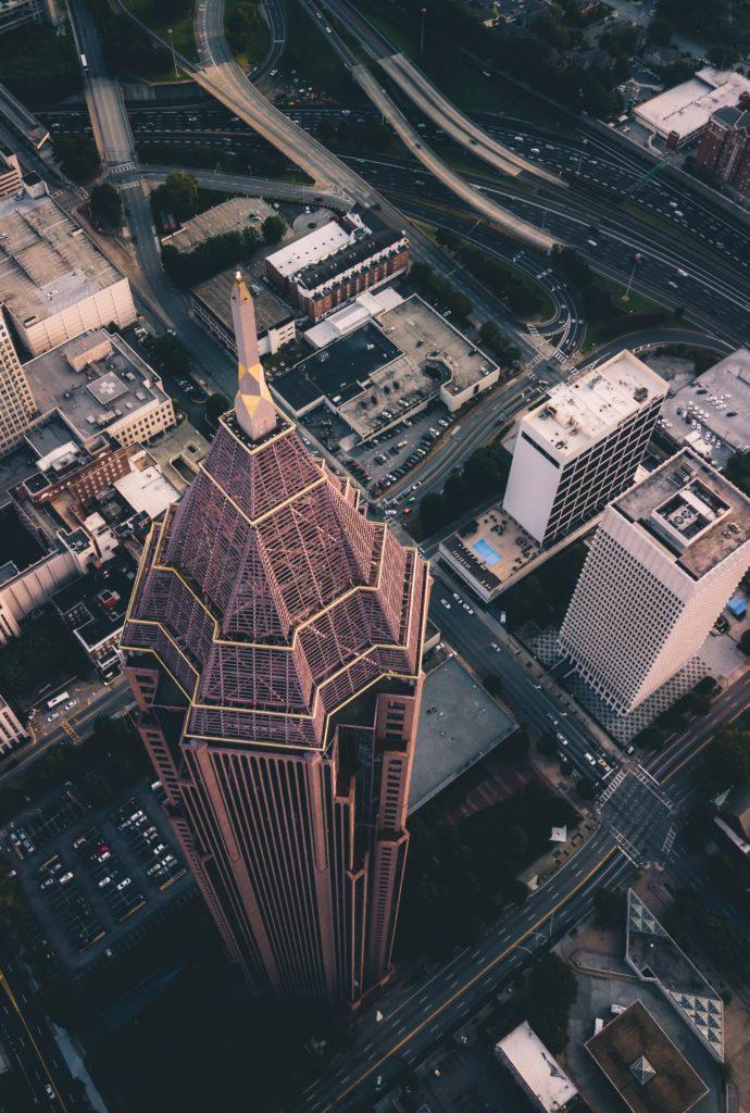 vista aerea de atlanta