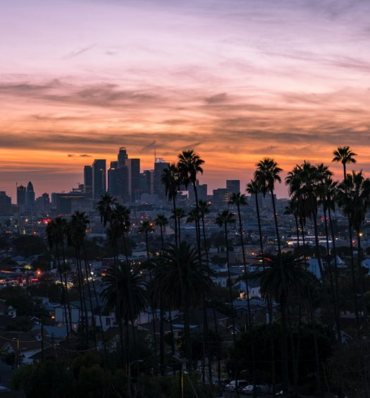 vista de Lincoln Heights em Los Angeles