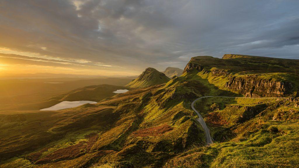 ilha de skye na escócia