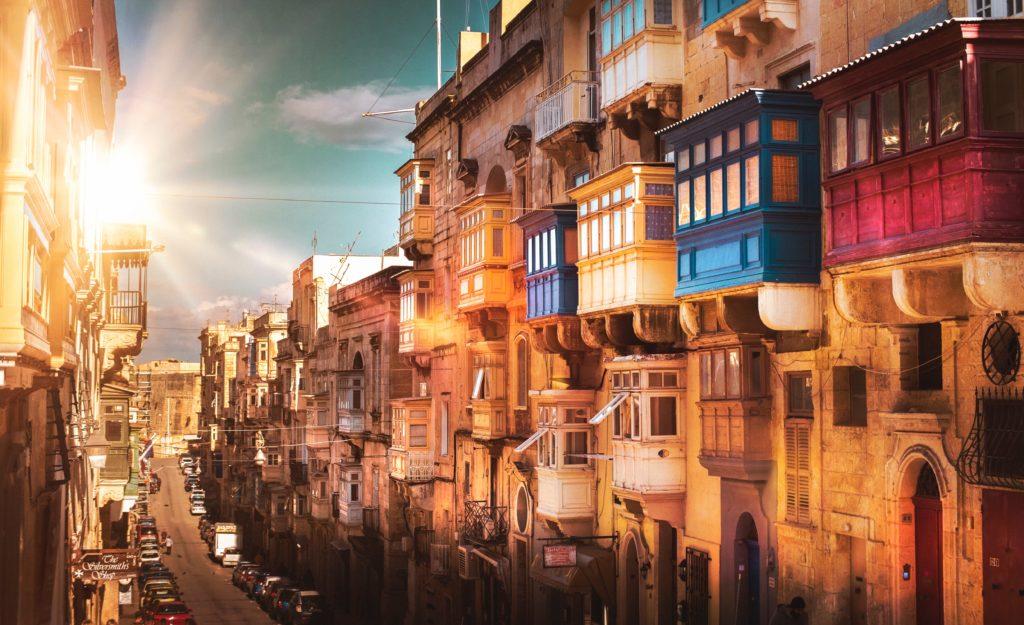 Valetta em Malta
