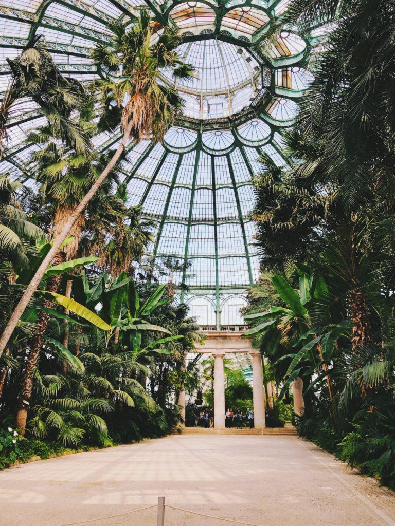 Royal Greenhouses of Laeken em Bruxelas na Bélgica
