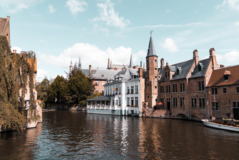 cidade de bruges na Bélgica