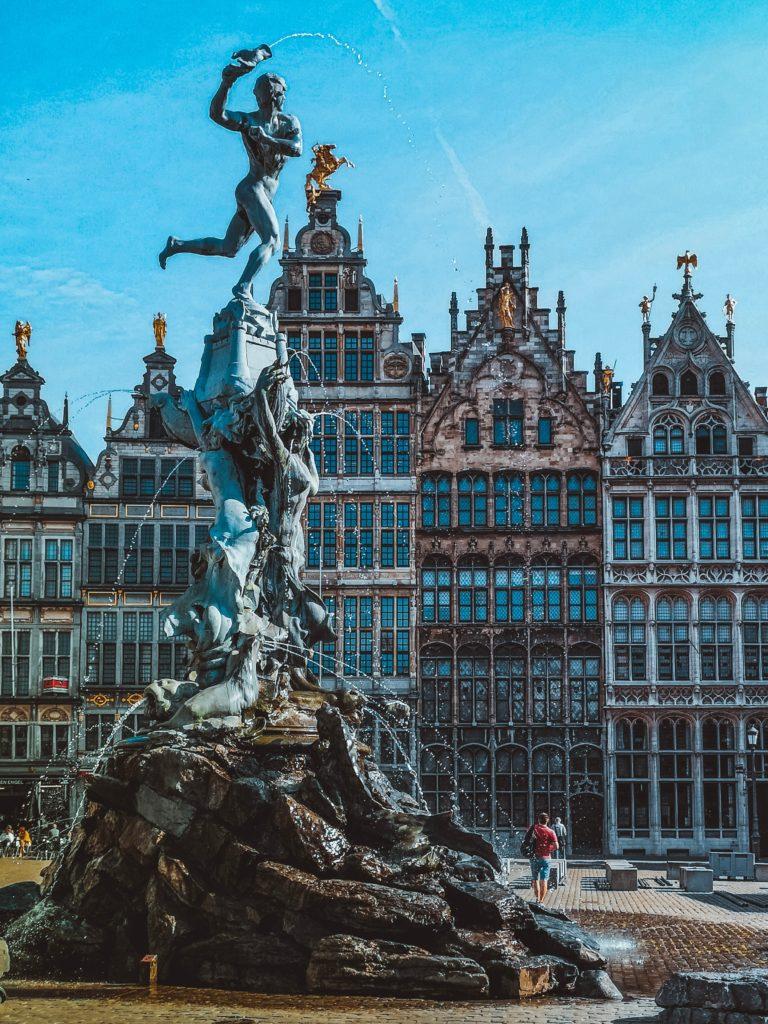 Grand Place em Bruxelas na Bélgica