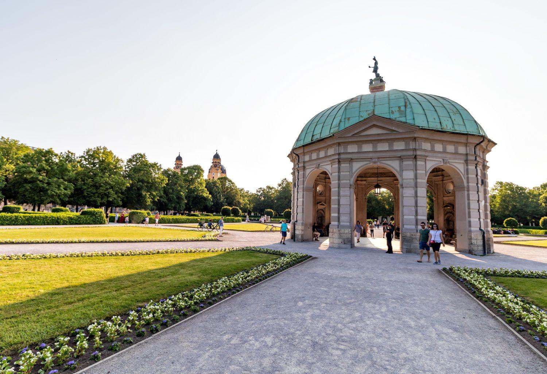 Templo de Diana no Jardim Hofgarten