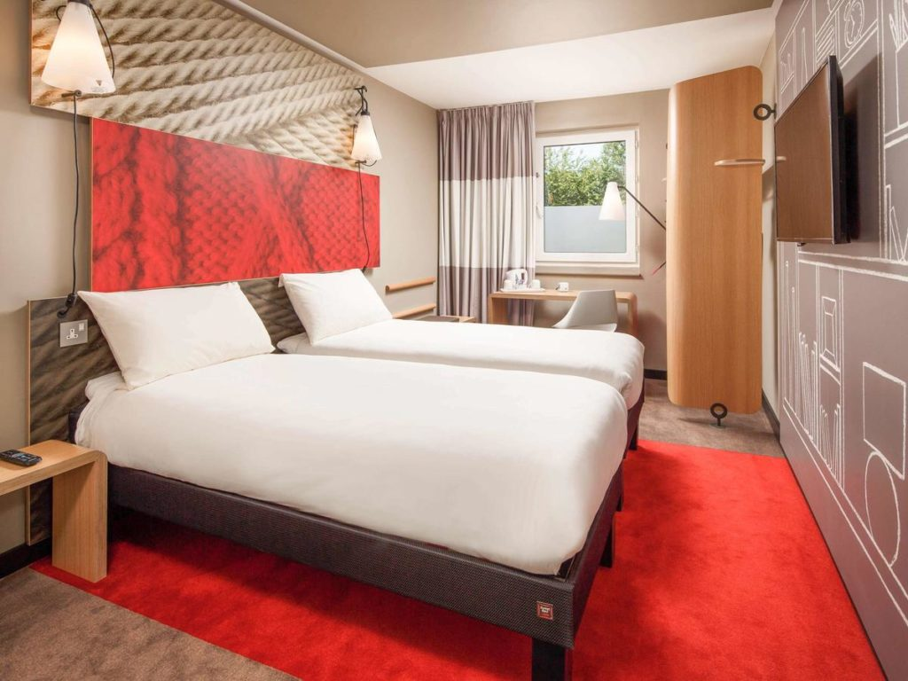 Quarto do Ibis London Stratford