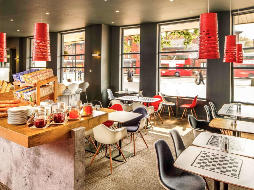 restaurante do Ibis London Stratford