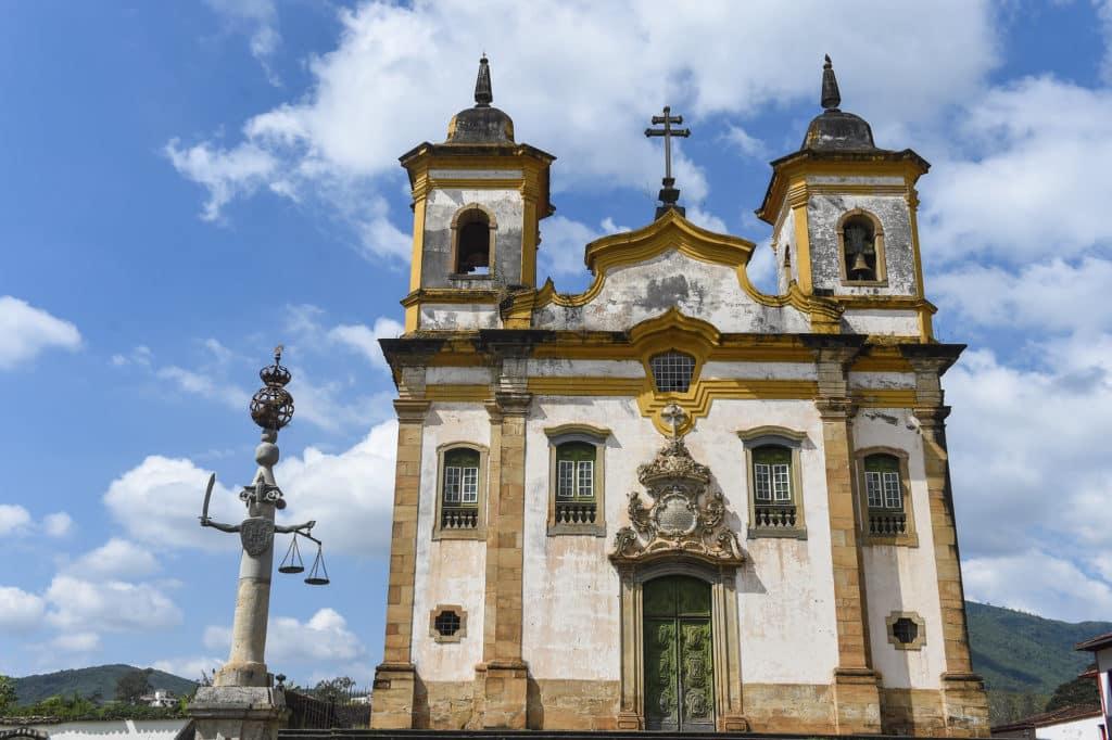 Igreja de São Francisco de Assis em Mariana - Foto: MTur Destinos via Flickr