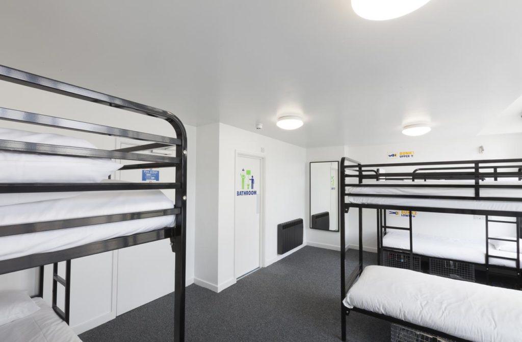 quarto - hoteis baratos em londres - sohostel