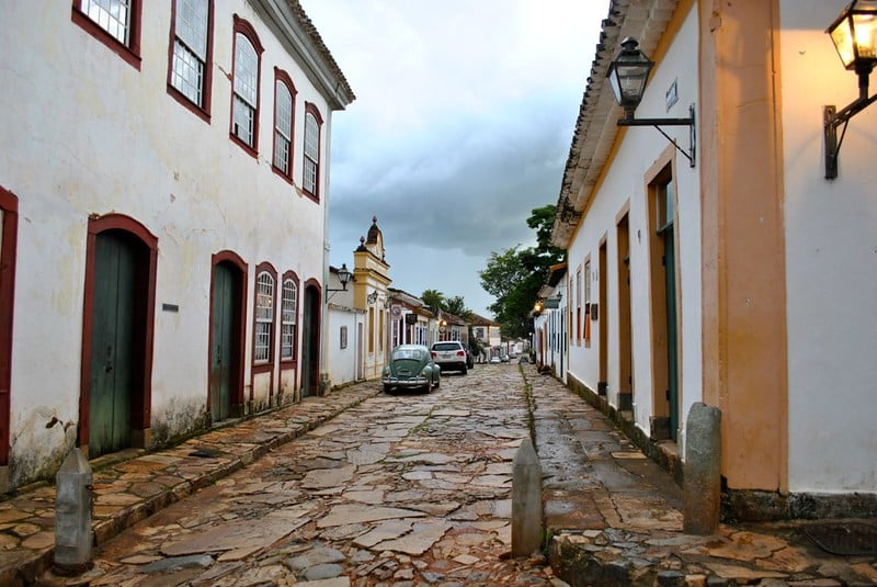 Ruas da cidade de Tiradentes - Foto: Luiz Pantoja via Flickr
