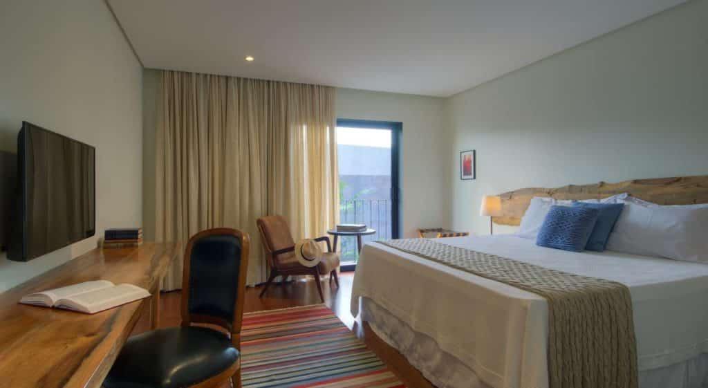 Quarto de casal do Hotel Villa Amazônia