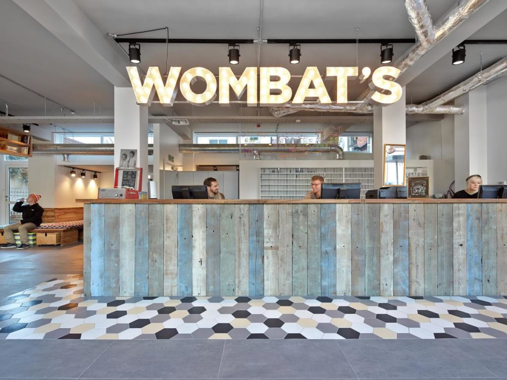 Wombat's City Hostel - hoteis baratos em londres