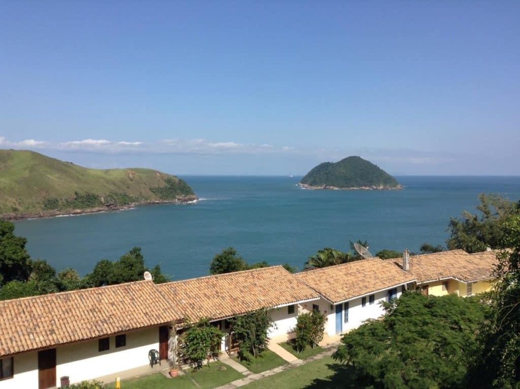 A vista do mar de Toque-Toque Grande da Casa praia vista mar ttg