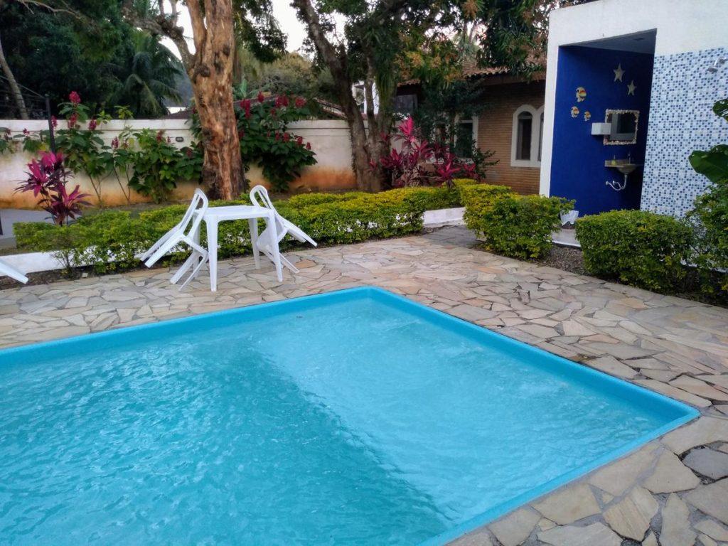 A piscina do Hotel Portal da Praia
