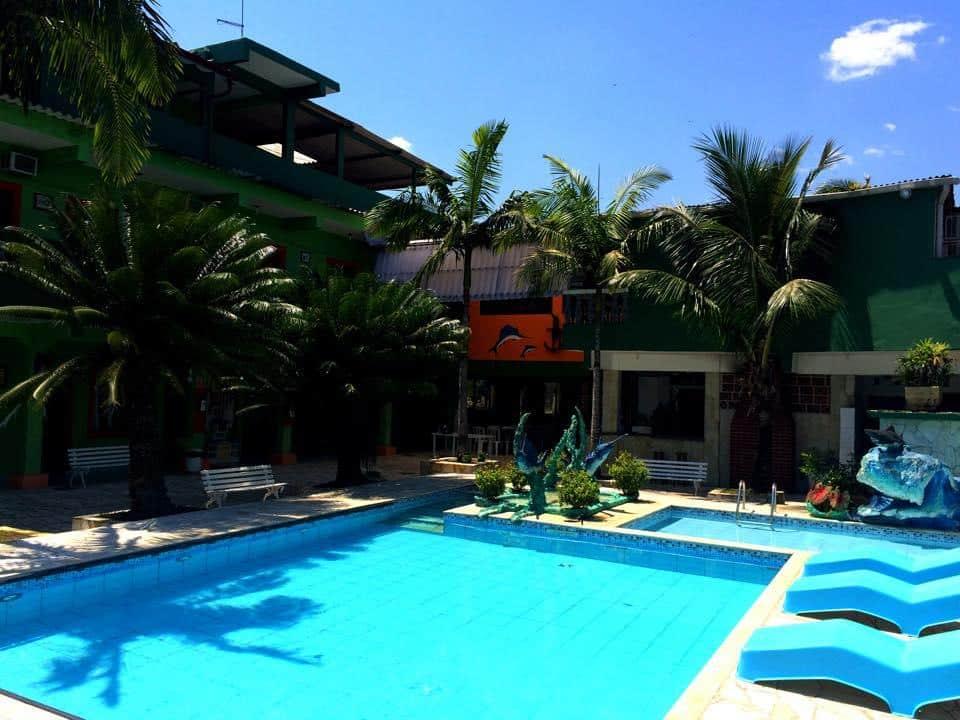 Piscina do Hotel Pousada Guarubora