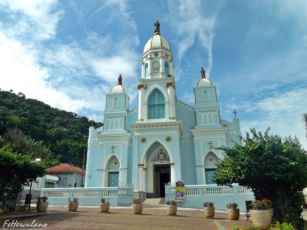 Foto da igreja matriz de São Bento do Sapucaí