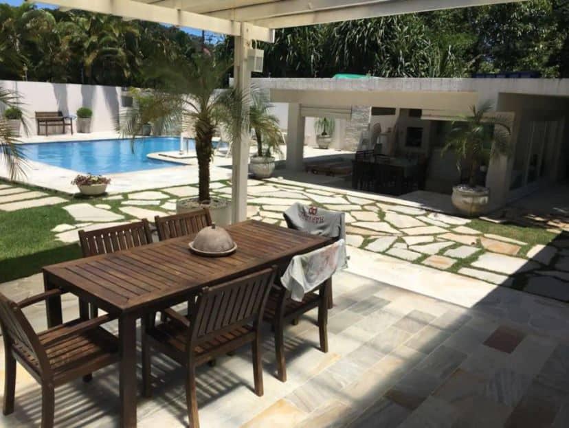 Parte da Litoral Norte Top: Casa Juréia de São Sebastião com piscina