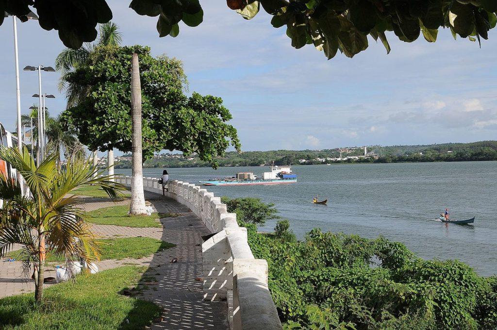 Parte do Rio São Francisco em Penedo