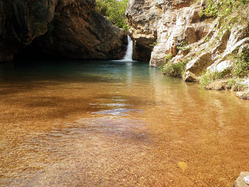 Poço Azul, cachoeira no Distrito Federal