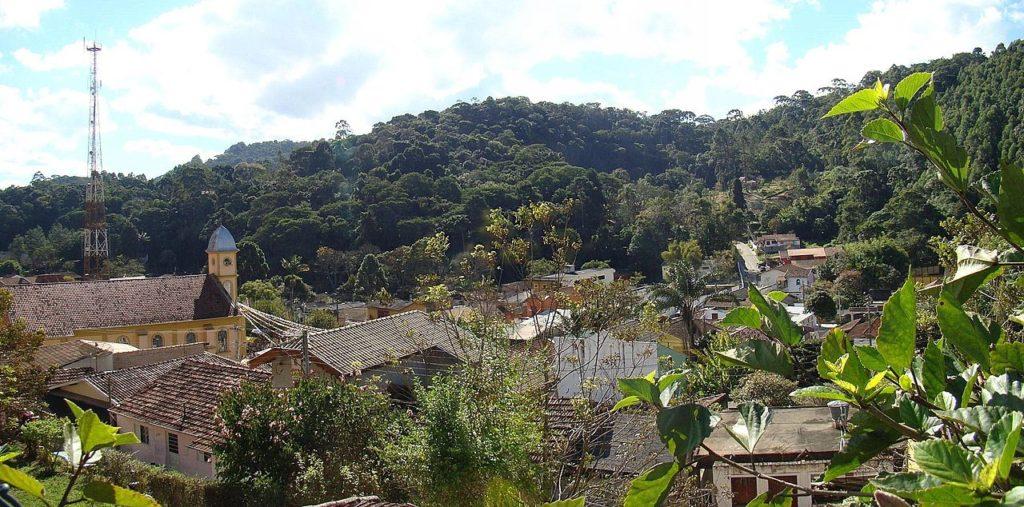 Natureza no entorno de Santo Antônio do Pinhal