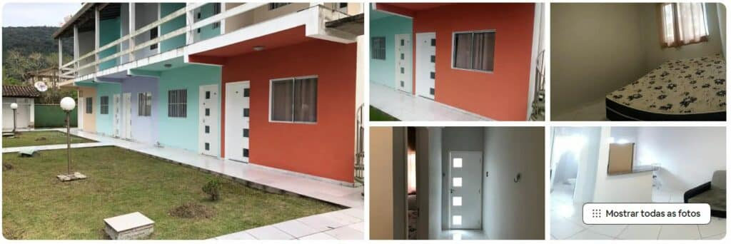 Apartamento simples, mas eficiente, em Maranduba em Ubatuba