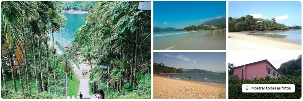 Airbnb na Praia da Enseada em Ubatuba, mas perto também de outras praias da região