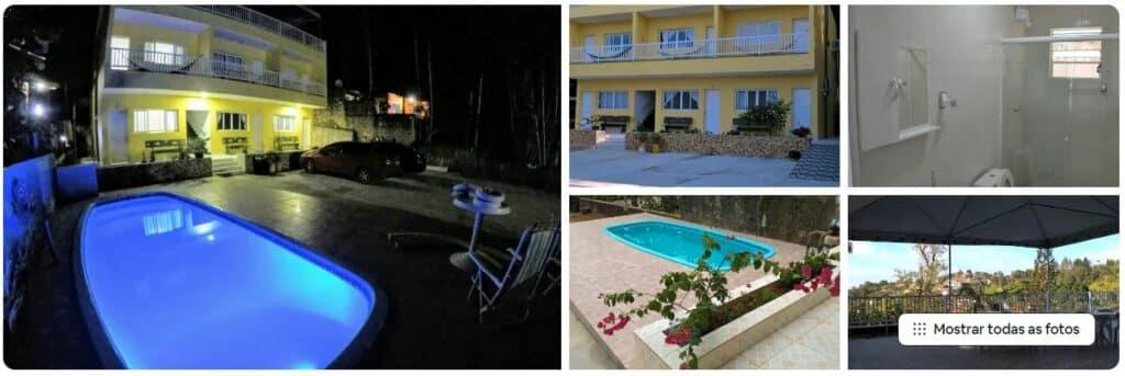 Apartamento blue em condomínio perto da praia em Ubatuba