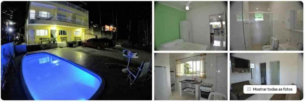 Apartamento green em condomínio perto da praia em Ubatuba