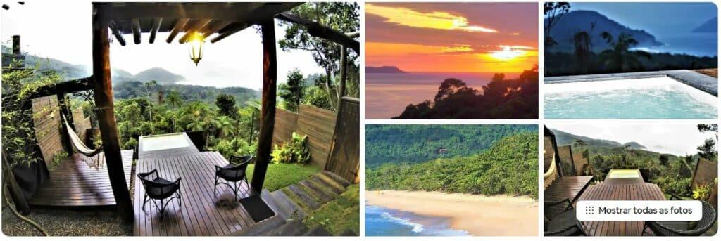 Casa Araucária House com piscina exclusiva, natureza em volta e vista da praia