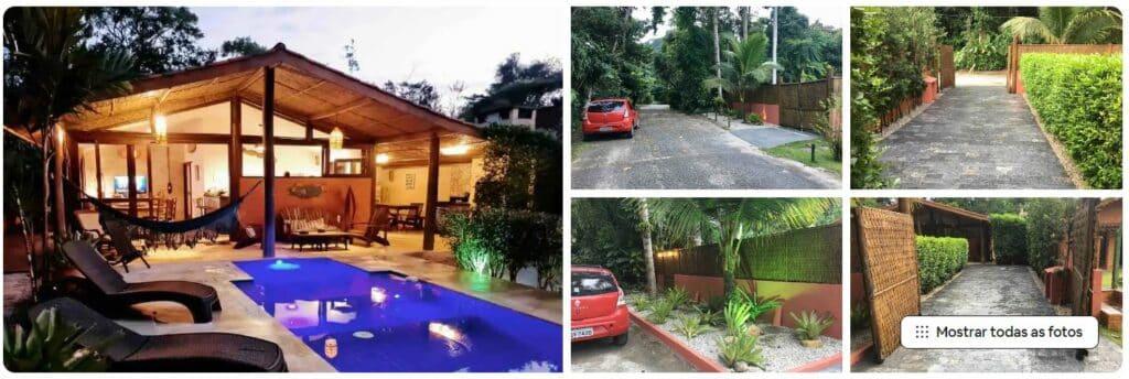 Casa ampla com piscina em Prumirim