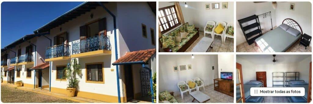 Airbnb de casa em condomínio a 300 metros da praia de Maranduba em Ubatuba