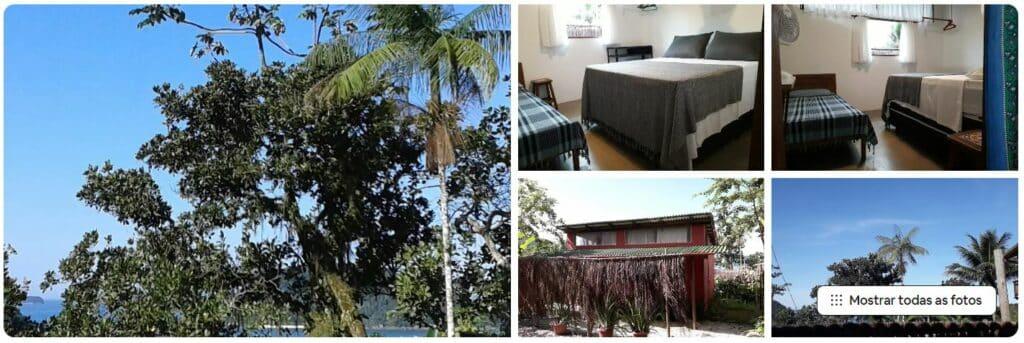 Casa pequena de Airbnb em Prumirim