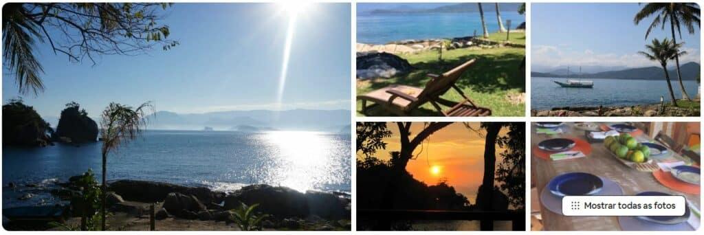 Vista do mar a partir do Airbnb Ilha Comprida- Picinguaba 2 Wow houses on island
