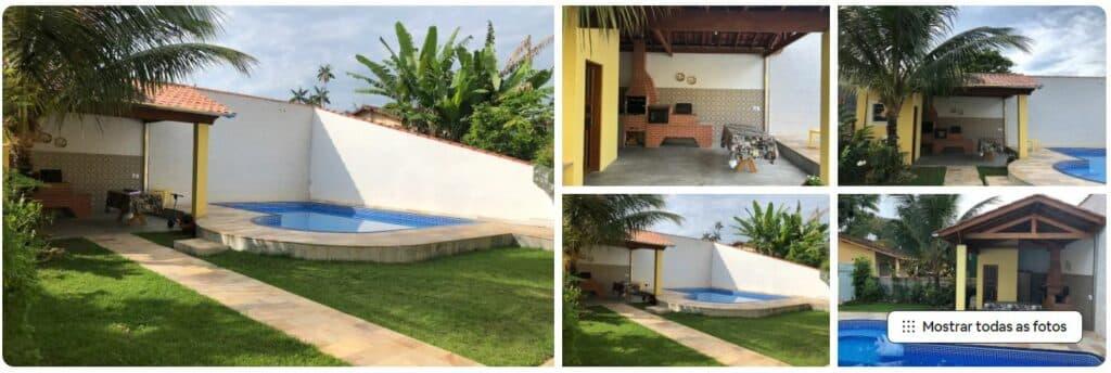 Airbnb Casa Linda c/ piscina e ar-condicionado na Praia da Lagoinha