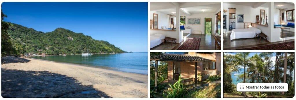 Espaços do Airbnb Casa linda praia Picinguaba Ubatuba