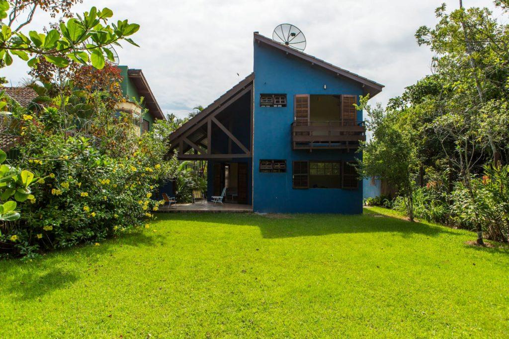 casa simples e agradável na jureia