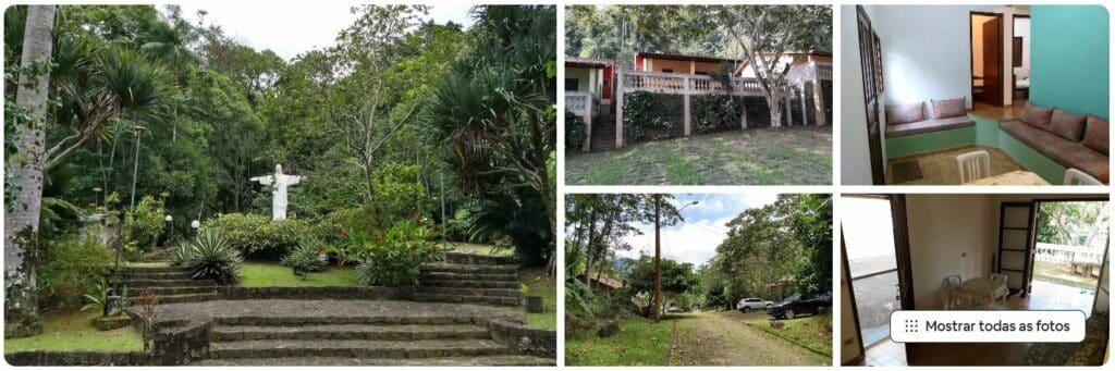 Espaços da Casa tranquila entre Ubatuba e Paraty