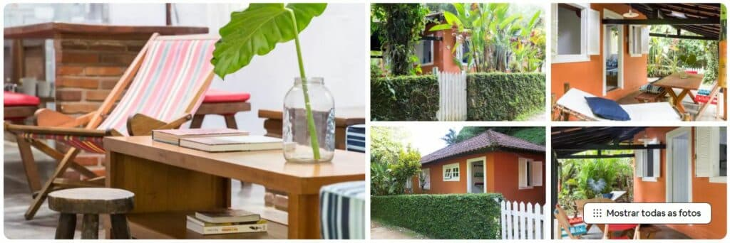 Detalhes e espaços da casa Charming house in Picinguaba