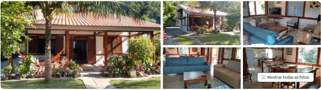 casa de praia espaçosa com jardim