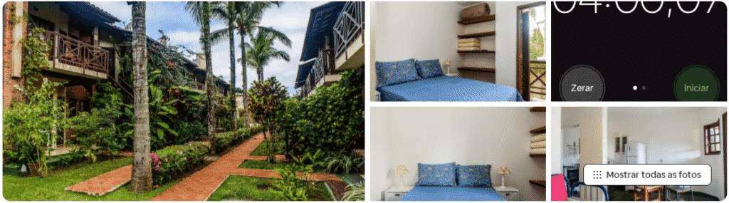 apartamento em condomínio airbnb na praia da baleia
