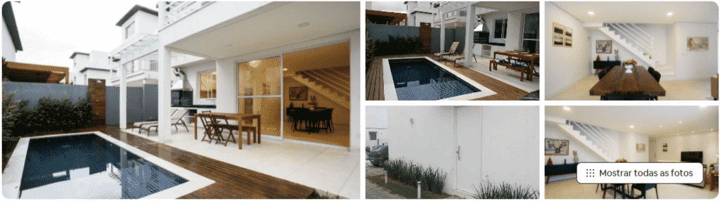 casa nova pé na areia em São Sebastião