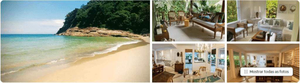 casa de praia em são sebastião