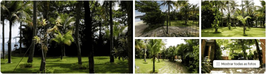 airbnb paraíso pé na areia na praia de santiago