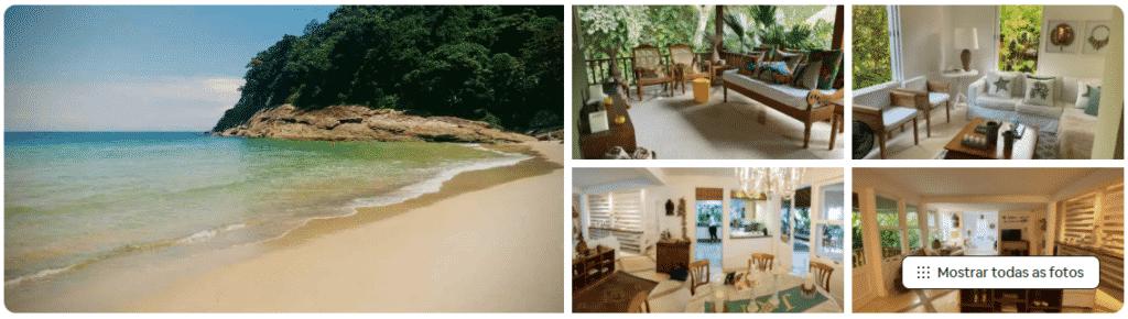 casa na praia para relaxar e curtir em são sebastião