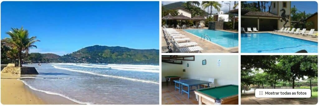 Fotos da casa Lar de Ubatuba, um Airbnb na Praia da Enseada