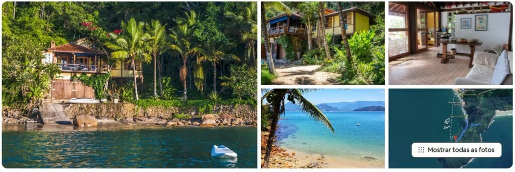 Fotos da Linda Casa em Lugar Paradisíaco Pé na Areia